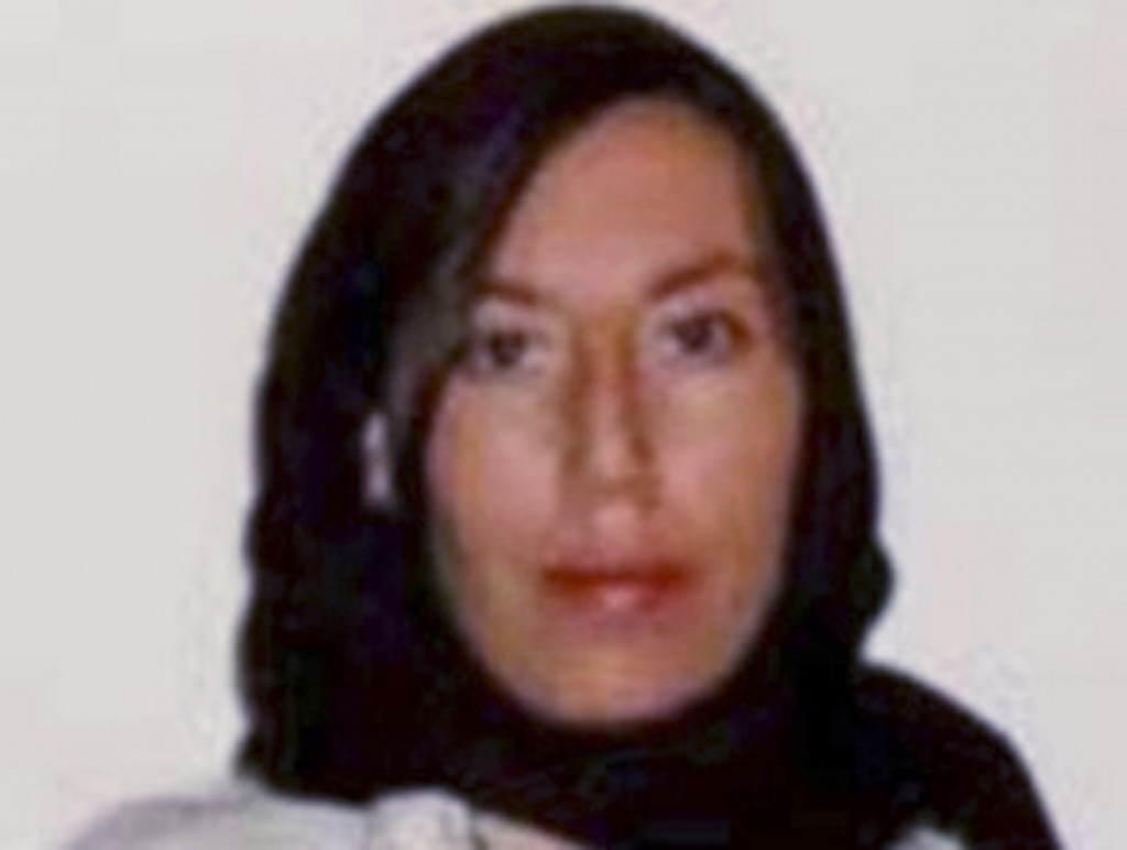 This 2013 photo released by the Department of Justice shows Monica Elfriede Witt.  The Justice Department on Wednesday announced an indictment against