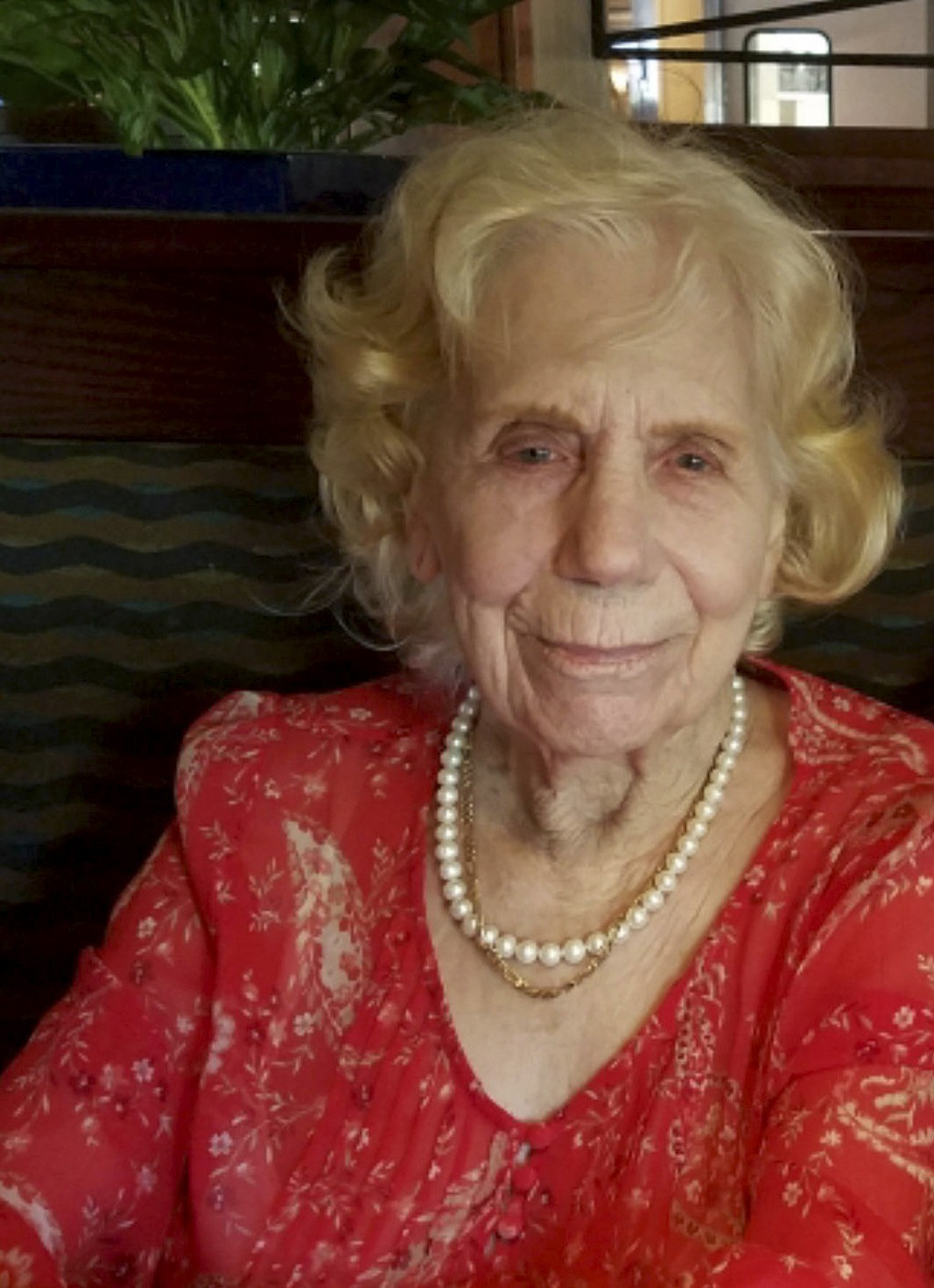 This Aug. 1, 2018, photo provided by Arthur Lee shows his mother, Dorothy Lee Herrera, on her 93rd birthday in Chico, Calif. On the eastern edge of Pa...