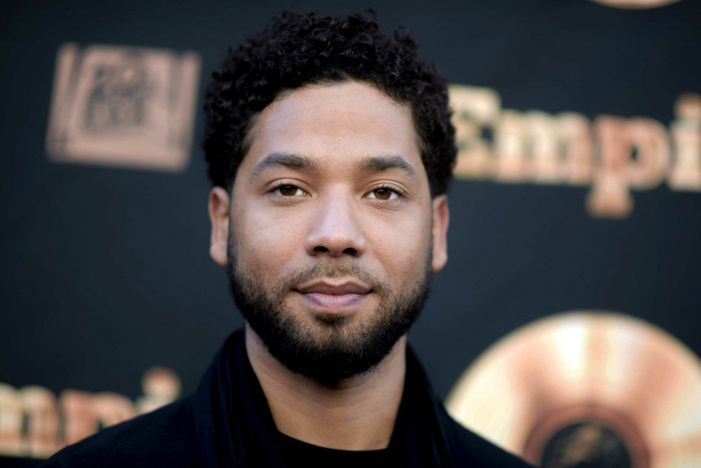 """FILE - In this May 20, 2016 file photo, actor and singer Jussie Smollett attends the """"Empire"""" FYC Event in Los Angeles. Chicago police say they're int..."""