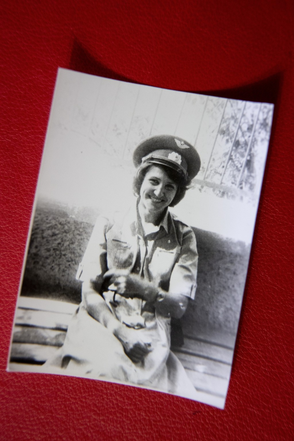 In this photo taken in June 1986, Tatyana Rybalchenko, who worked as a nurse during the Soviet campaign in Afghanistan between 1986 and 1988, poses fo...