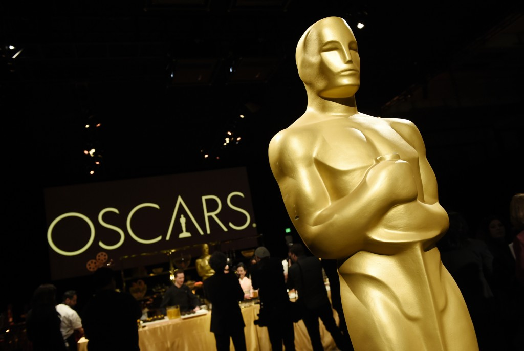 An Oscar statue is pictured at the press preview for the 91st Academy Awards Governors Ball, Friday, Feb. 15, 2019, in Los Angeles. The 91st Academy A...