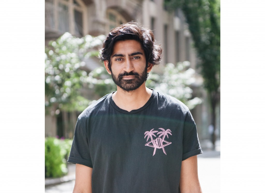 In this undated image provided by Grailed, the company's CEO and co-founder Arun Gupta poses for a photo. Grailed was started five years ago by Gupta,...
