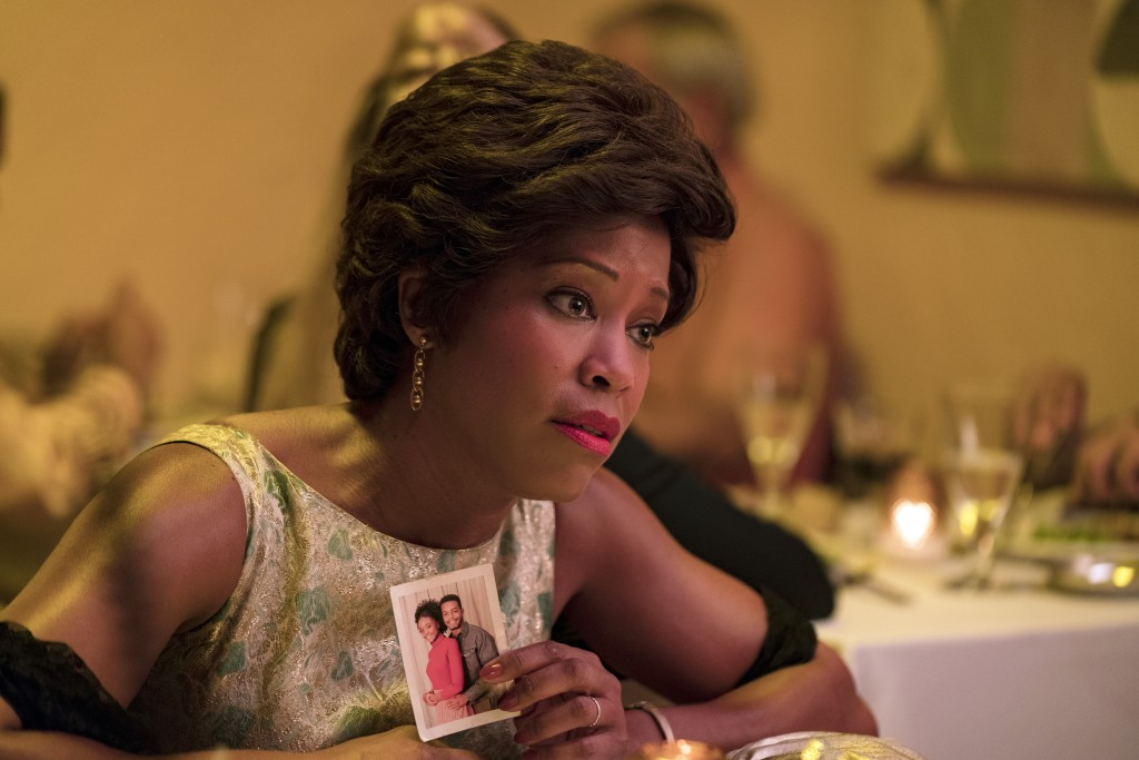 "This image released by Annapurna Pictures shows Regina King in a scene from ""If Beale Street Could Talk."" King is nominated for an Oscar for best supp..."