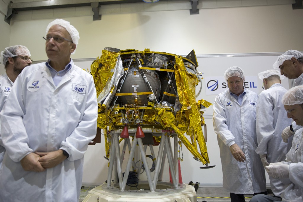 Israels first Moon mission blasts off from Florida