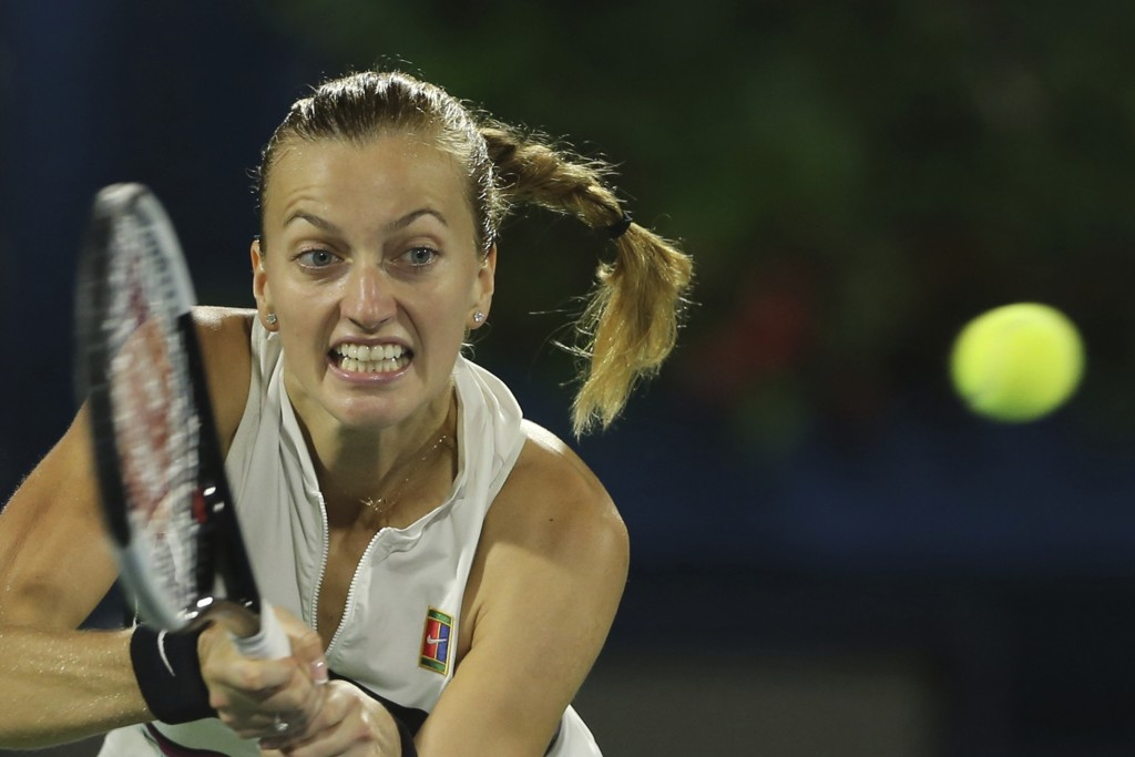 Petra Kvitova battles into second Dubai final