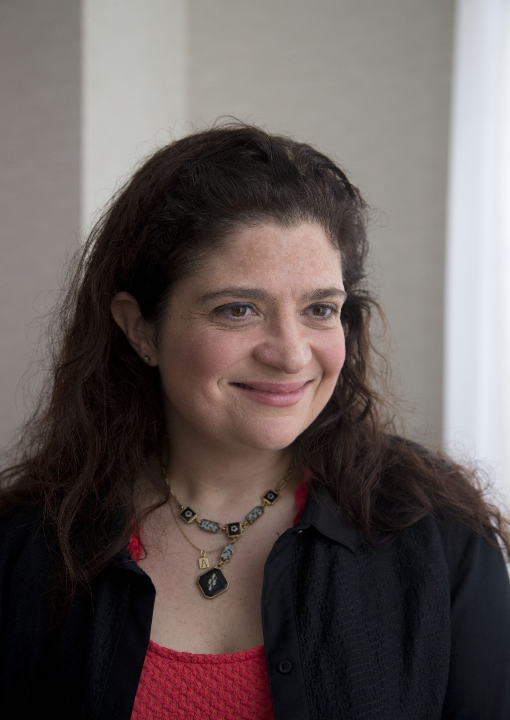 FILE - In this Feb. 21, 2014 file photo, Food Network chef Alex Guarnaschelli is interviewed in Miami Beach, Fla.  Guarnaschelli might be a revered ju