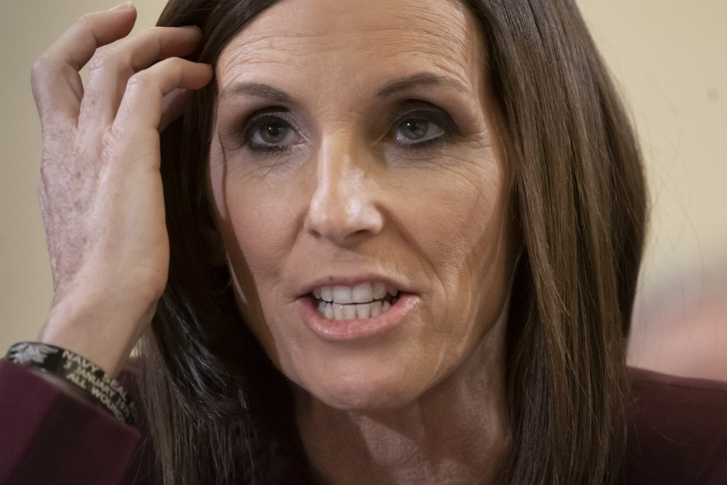 McSally says a superior officer raped her when in Air Force