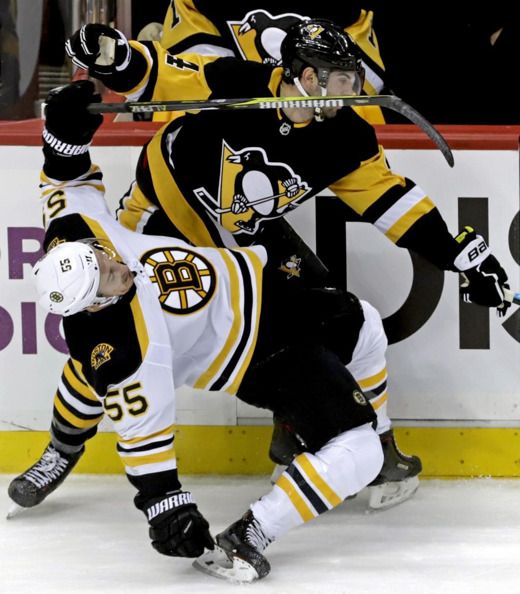 Penguins End Bruins' 19-game Point Streak In ...