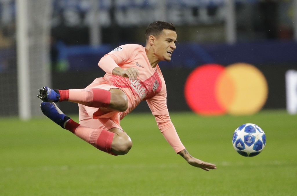 Liverpool old-boy Philippe Coutinho linked with a Man United move