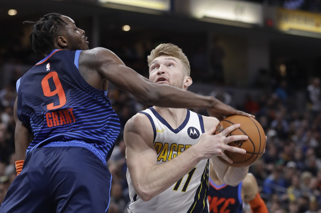 Pacers rally from 19-point deficit to beat Thunder 108-106