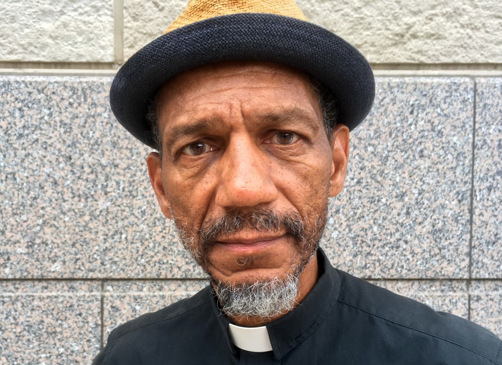 FILE - In this Oct. 5, 2017 file photo, Darryl Gray, a pastor with deep roots in civil rights activism who serves as a mentor to the unofficial leader