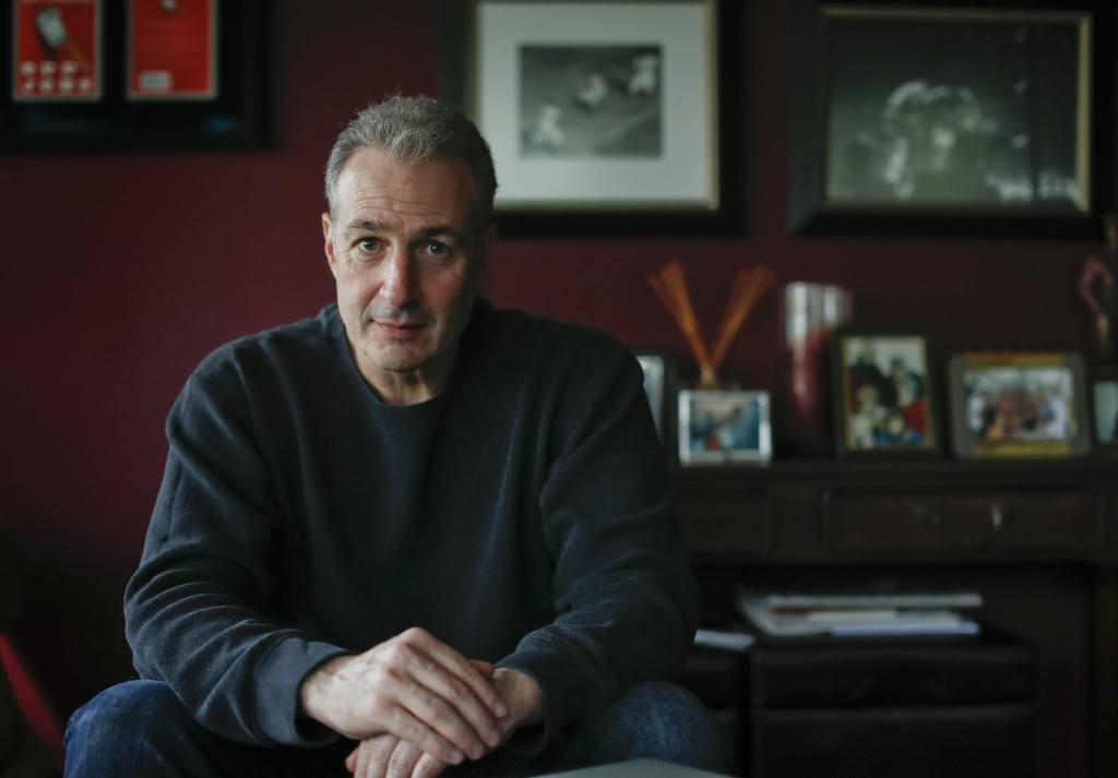 FILE - In this May 10, 2017 file photo, Ben Lieberman poses for a photo at his home in Chappaqua, N.Y. Lieberman, whose 19-year-old son died in a cras