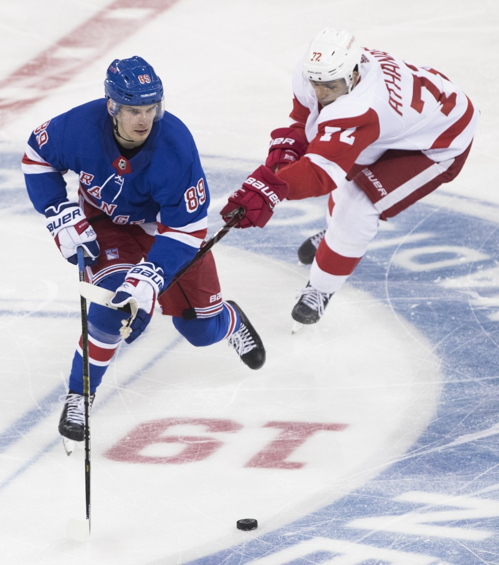 watch c9a3f 58407 Athanasiou scores twice, Red Wings top Ranger... | Taiwan News