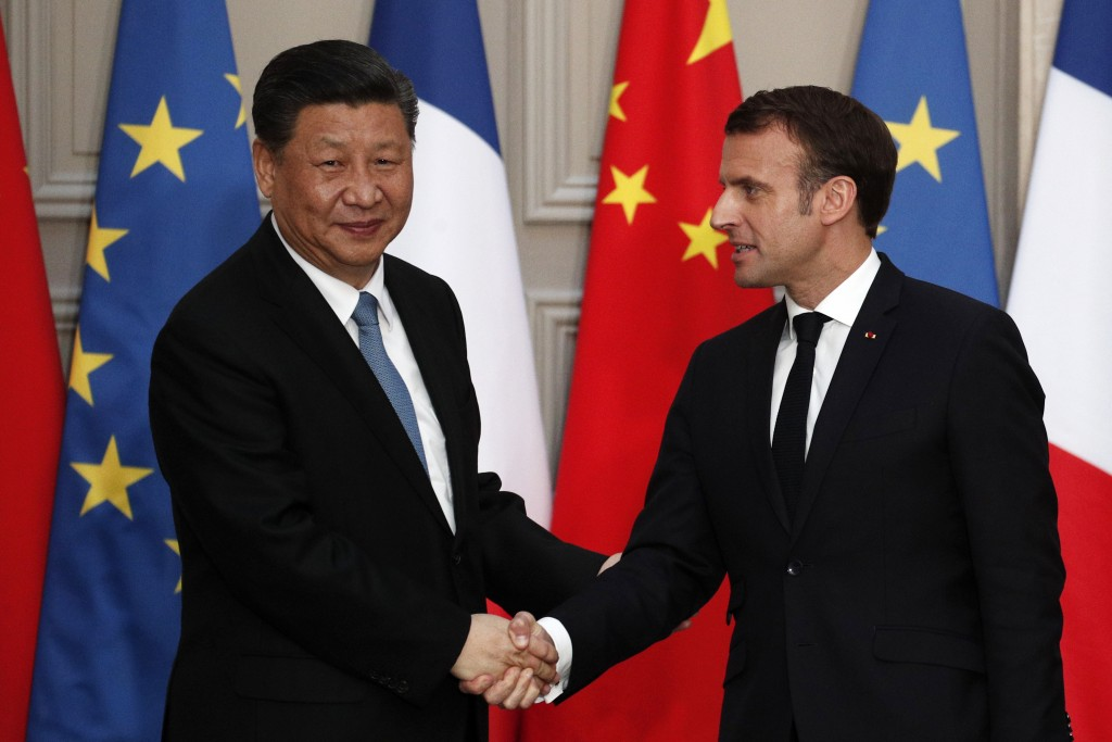 France, China sign multibillion trade deals as Xi Jinping meets Macron