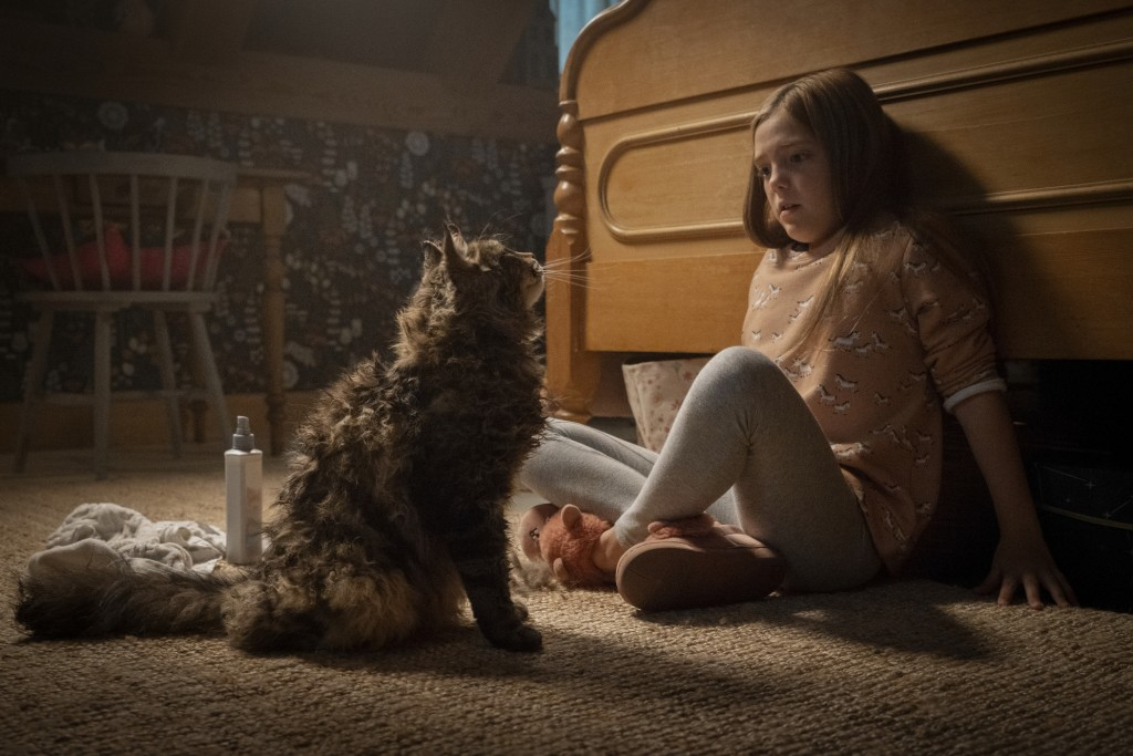 "This image released by Paramount Pictures shows Jeté Laurence in a scene from ""Pet Sematary."" (Kerry Hayes/Paramount Pictures via AP)"