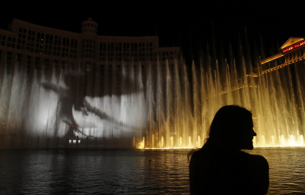 Game Of Thrones Takes Over Bellagio Fountains Taiwan News