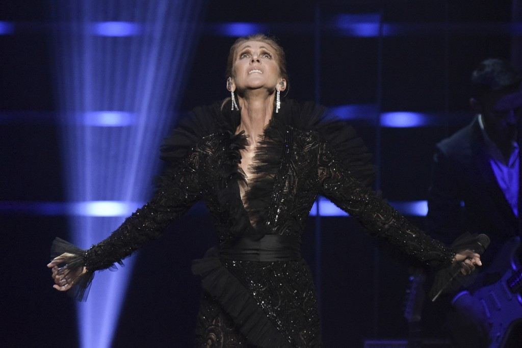 Celine Dion announces Courage World Tour, set to kick-off on September 18, 2019, during a special live event at The Theatre at Ace Hotel on Wednesday,