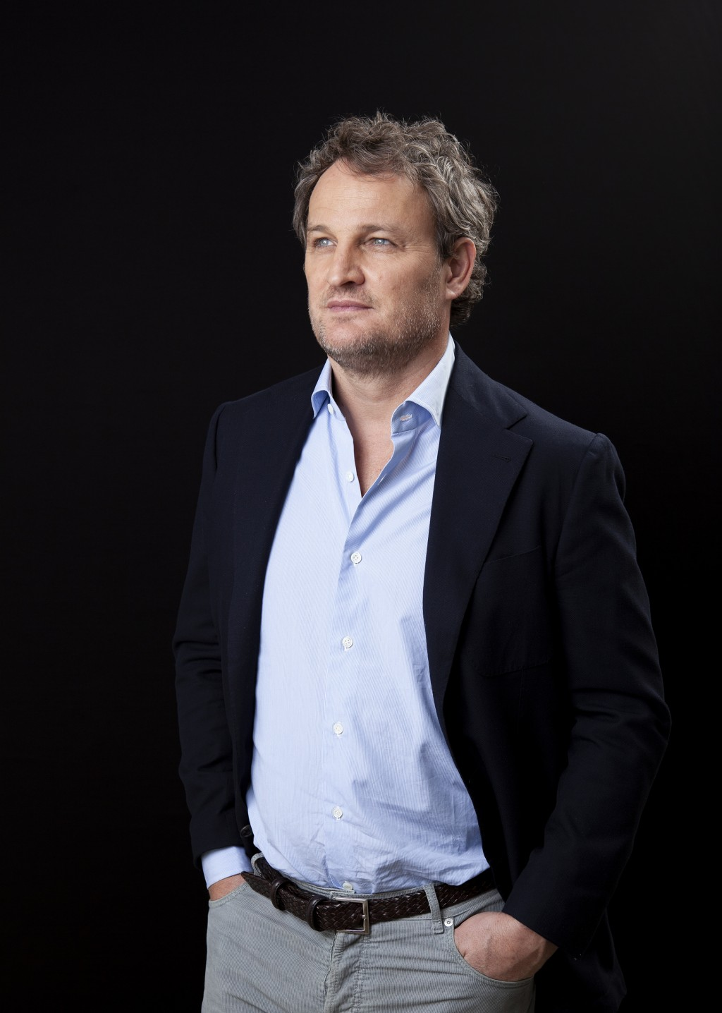 """This March 19, 2019 file photo shows Jason Clarke posing for a portrait to promote her film """"Pet Sematary"""" at the Four Seasons Hotel in Los Angeles. (..."""