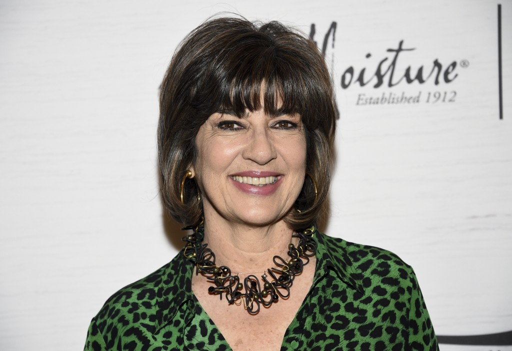 Honoree Christiane Amanpour attends Variety's Power of Women: New York presented by Lifetime at Cipriani 42nd Street on Friday, April 5, 2019, in New
