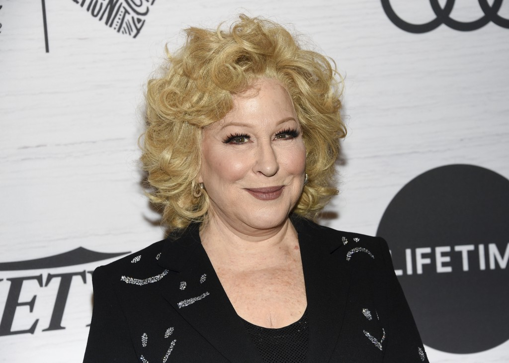 Honoree Bette Midler attends Variety's Power of Women: New York presented by Lifetime at Cipriani 42nd Street on Friday, April 5, 2019, in New York. (