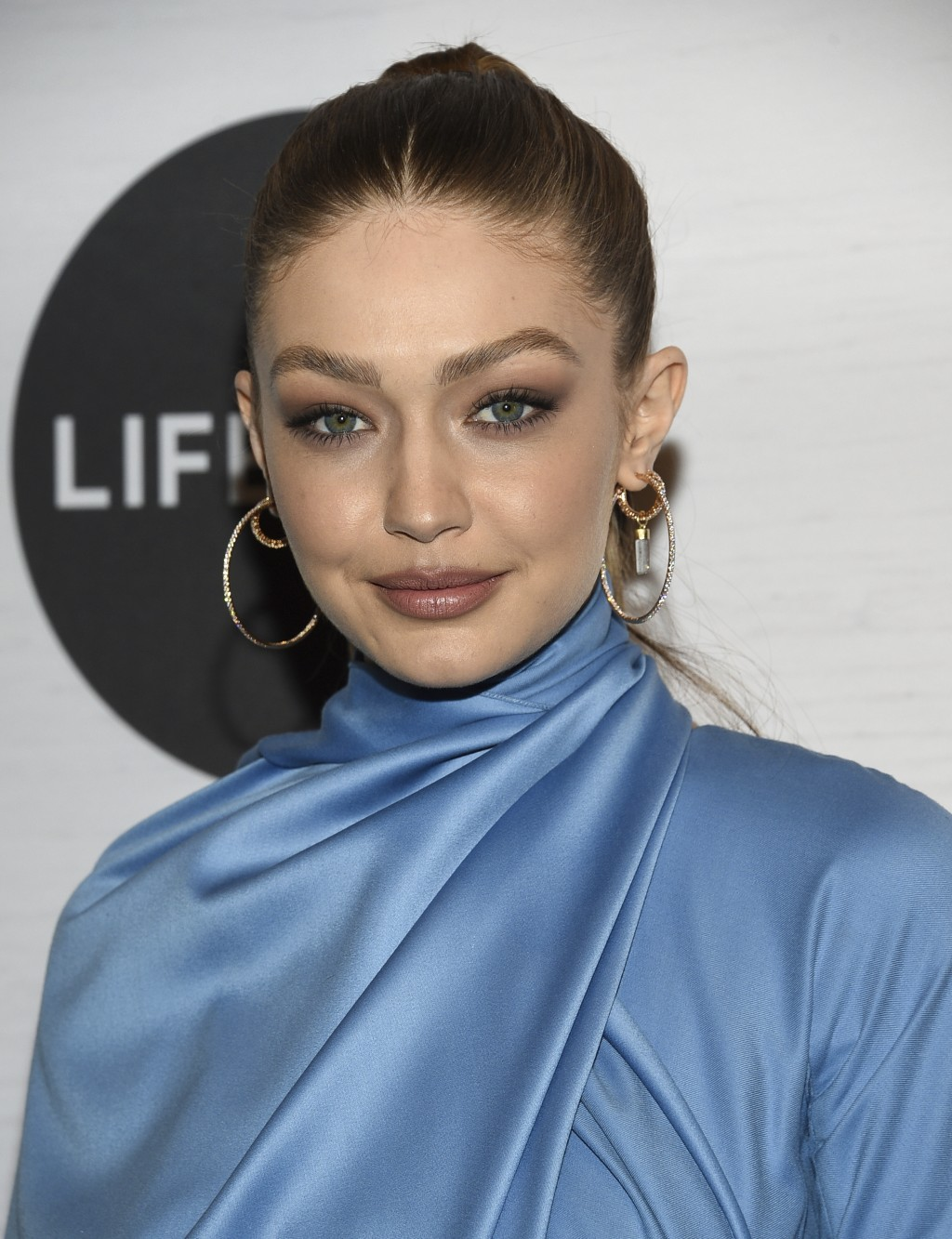 Honoree Gigi Hadid attends Variety's Power of Women: New York presented by Lifetime at Cipriani 42nd Street on Friday, April 5, 2019, in New York. (Ph