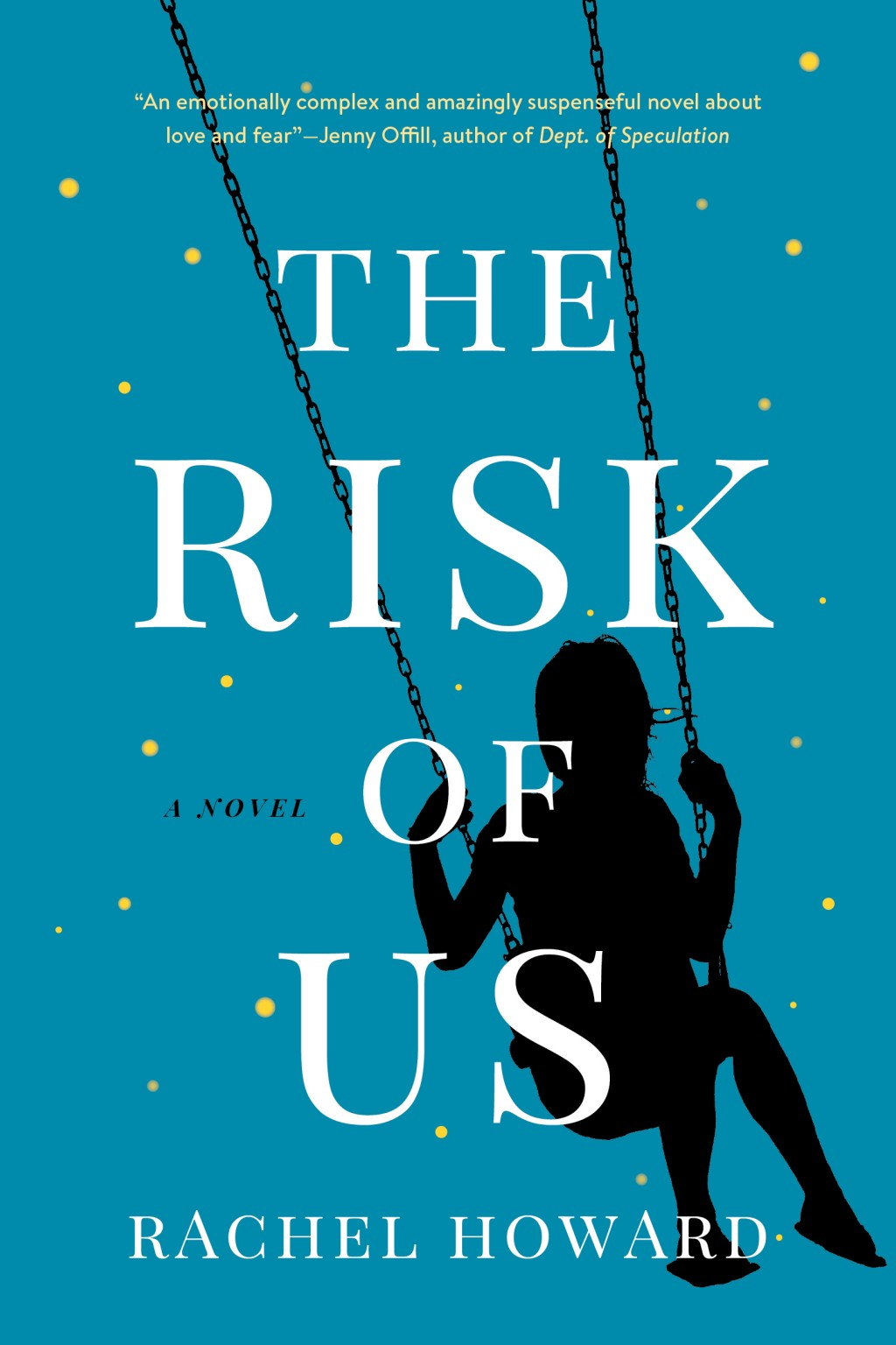 "This cover image released by Houghton Mifflin Harcourt shows ""The Risk of Us,"" a novel by Rachel Howard. (Houghton Mifflin Harcourt via AP)"
