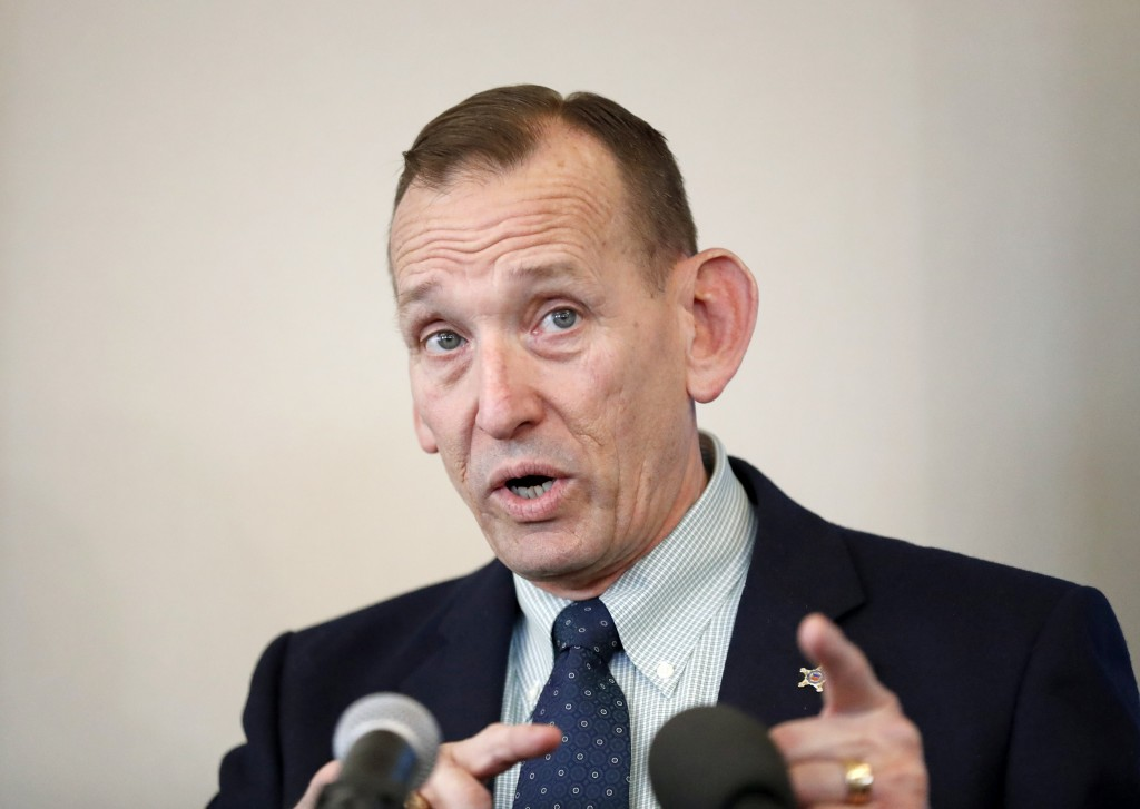 """FILE - In this Feb. 1, 2018 file photo, Director of the United States Secret Service, Randolph """"Tex"""" Alles, speaks at the Atlanta Press Club in Atlant..."""