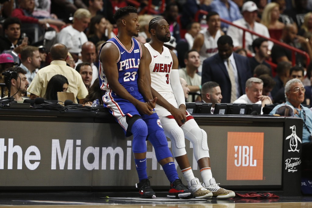 Wade goes out a winner in Miami, Heat top 76e      Taiwan News