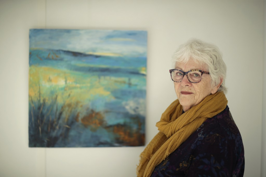 Elly Wright, a Dutch painter who has lived in Brit...