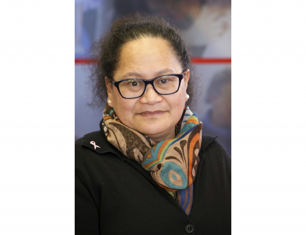 This undated photo released by International Committee of the Red Cross, the organization's New Zealand nurse Louisa Akavi.  New Zealand's foreign min