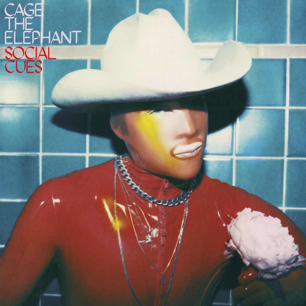 "This cover image released by RCA shows ""Social Cues,"" a release by Cage the Elephant. (RCA via AP)"