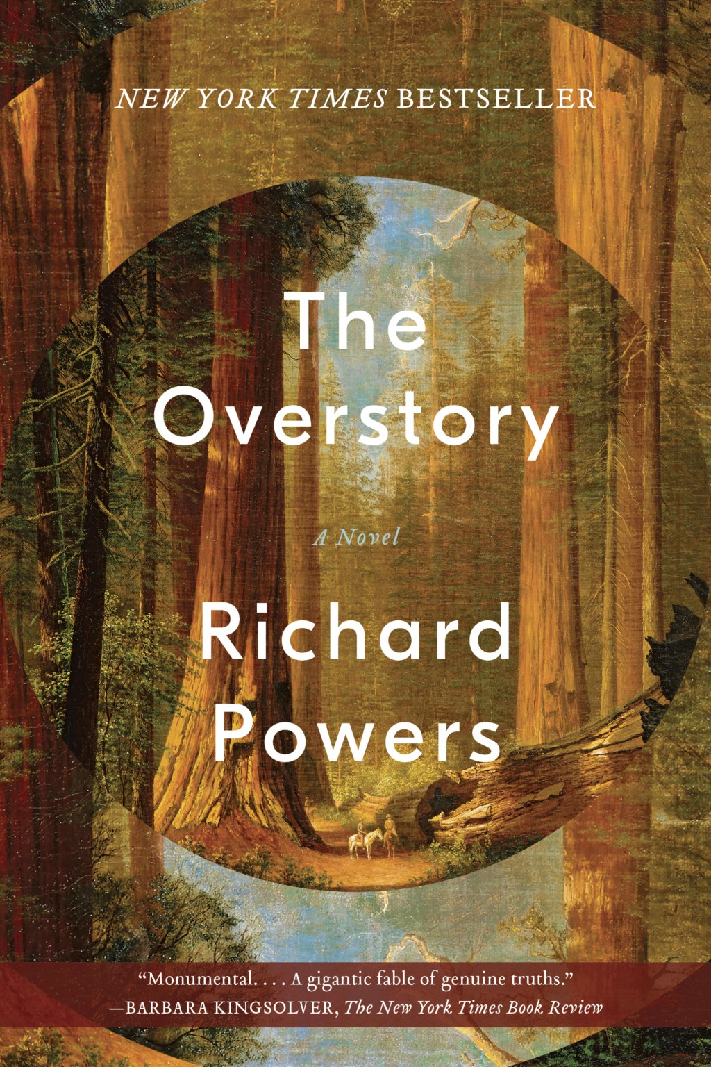 "This cover image released by W. W. Norton & Company shows ""The Overstory,"" a novel by Richard Powers, winner of the Pulitzer Prize for Fiction. (W. W."