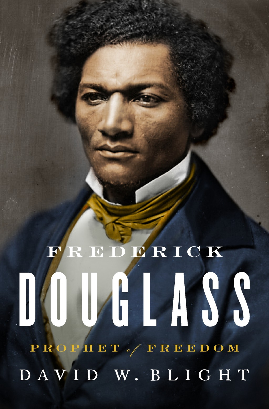 "This cover image released by Simon & Schuster shows ""Frederick Douglass: Prophet of Freedom,"" by David W. Blight, winner of the Pulitzer Prize for His"