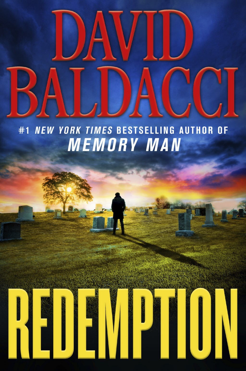 """This cover image released by Grand Central Publishing shows """"Redemption,"""" by David Baldacci. (Grand Central Publishing via AP)"""
