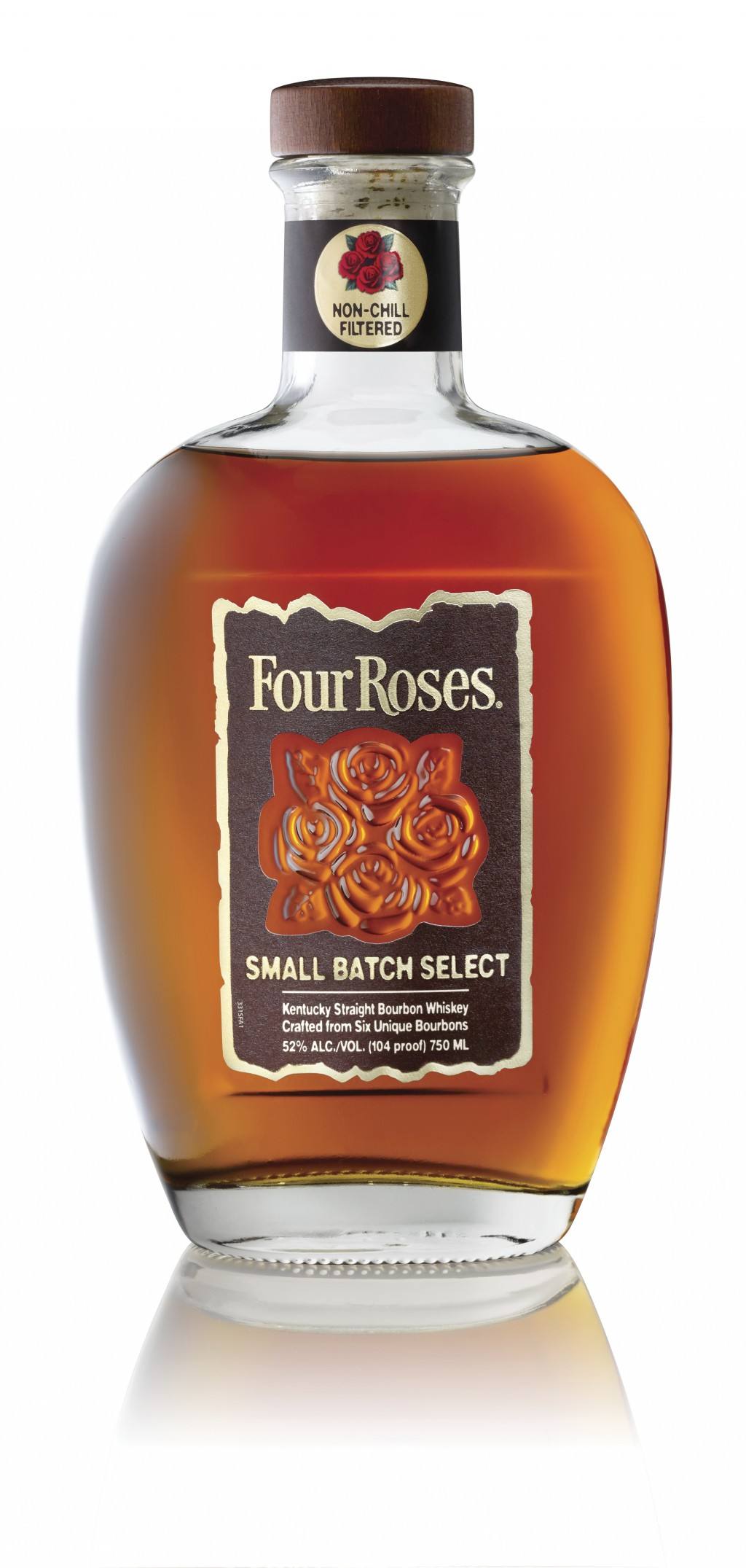 This photo provided by Four Roses shows shows a bottle of Four Roses Small Batch Select.  The iconic Kentucky bourbon that reintroduced itself to Amer