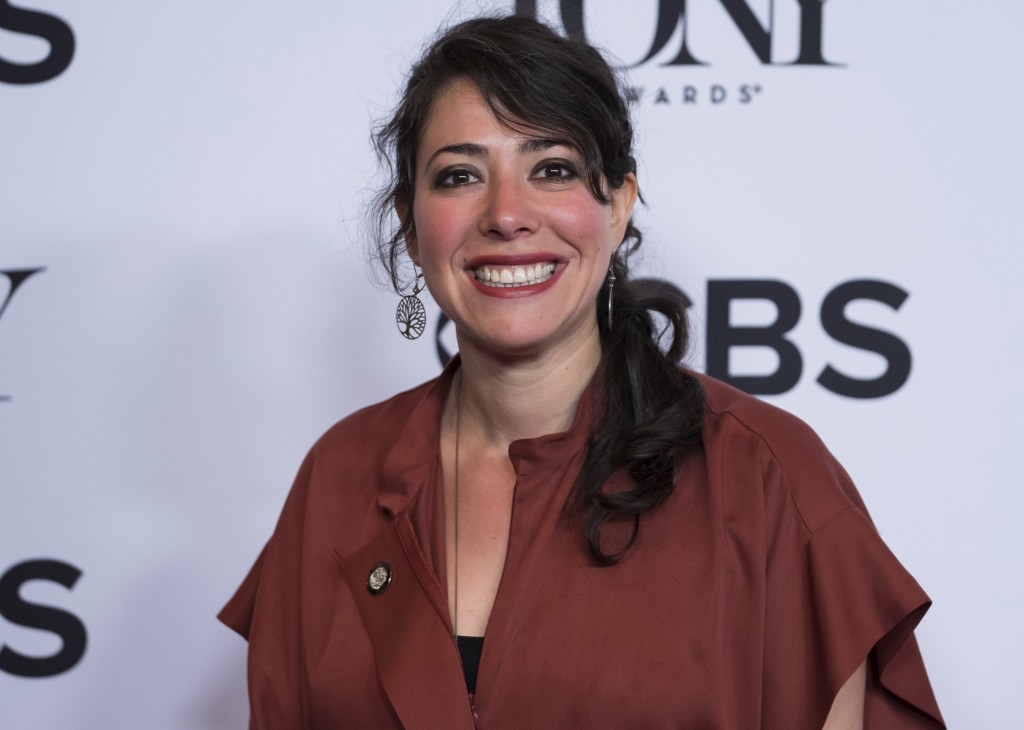FILE - This May 3, 2017 file photo shows director Rachel Chavkin at the 2017 Tony Awards Meet the Nominees press day in New York. Chavkin is the direc
