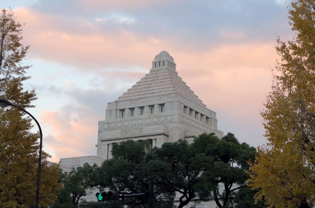 日本國會大廈(圖片來源:CNA)