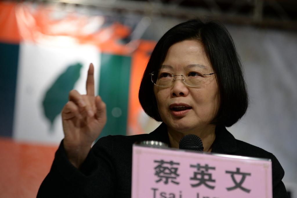 Tsai Ing-wen announces DPP leadership bid