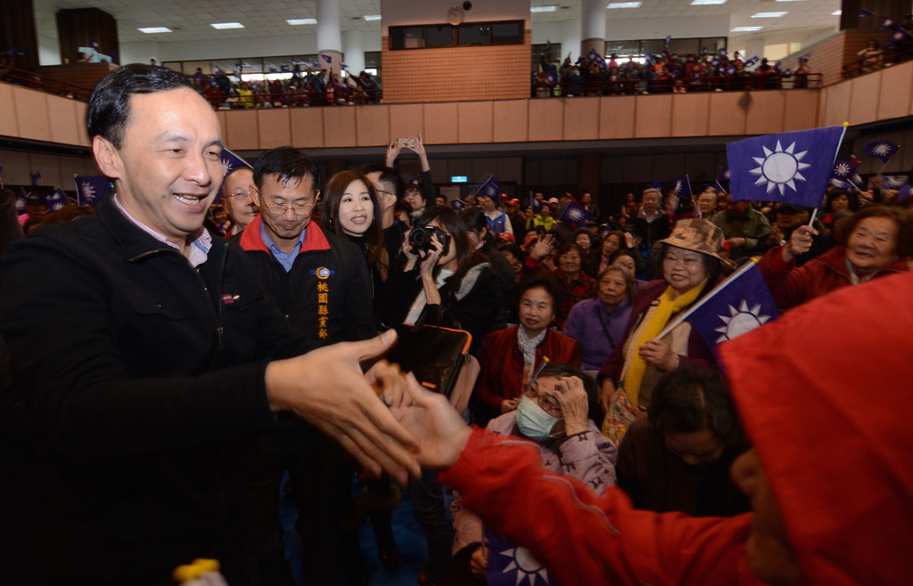Chu calls for unity in KMT