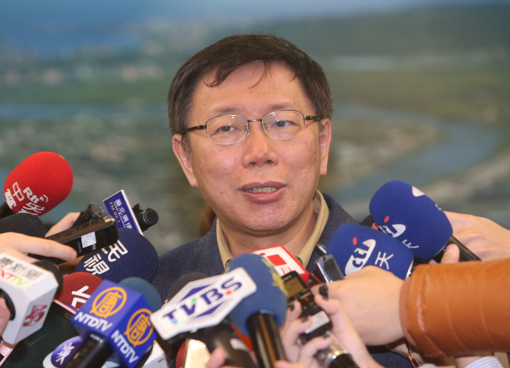 """Ko Wen-je tells of NT$300M """"investment"""" in mayoral election"""
