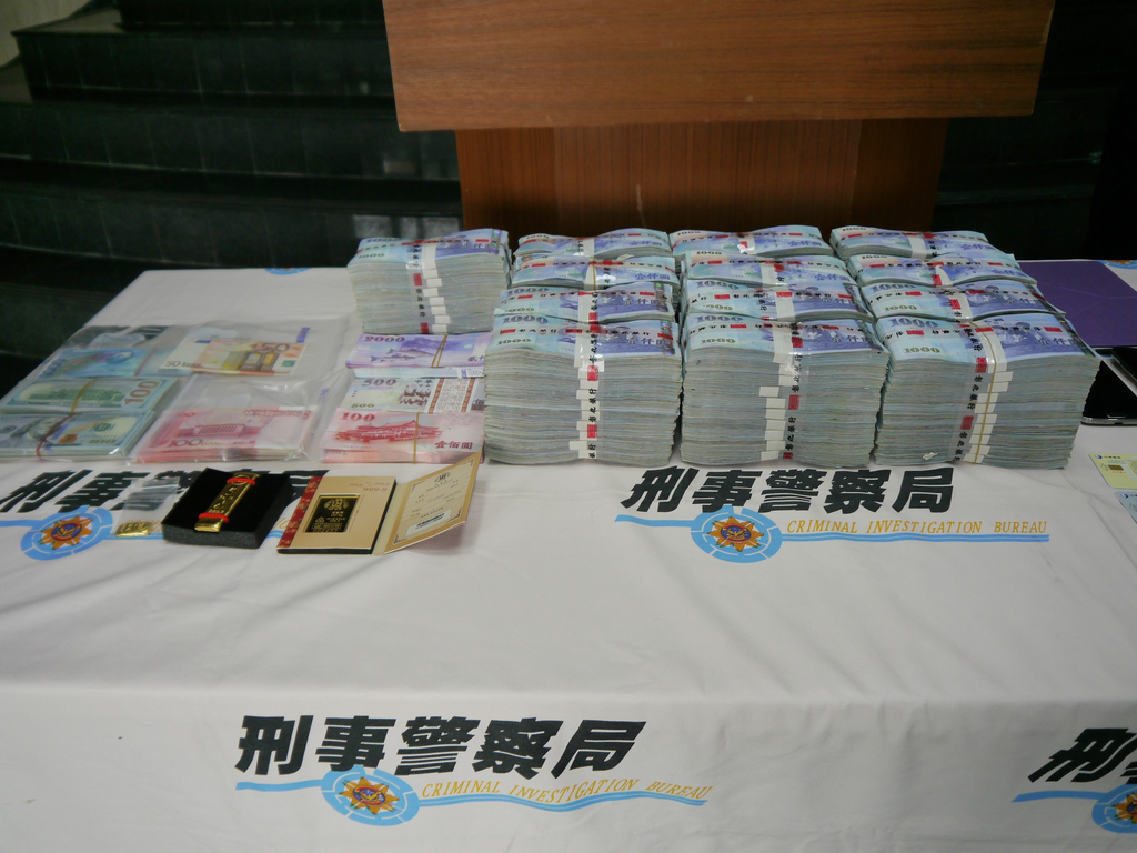 Con duo nabbed in Taichung reportedly scammed more than NT$1 billion
