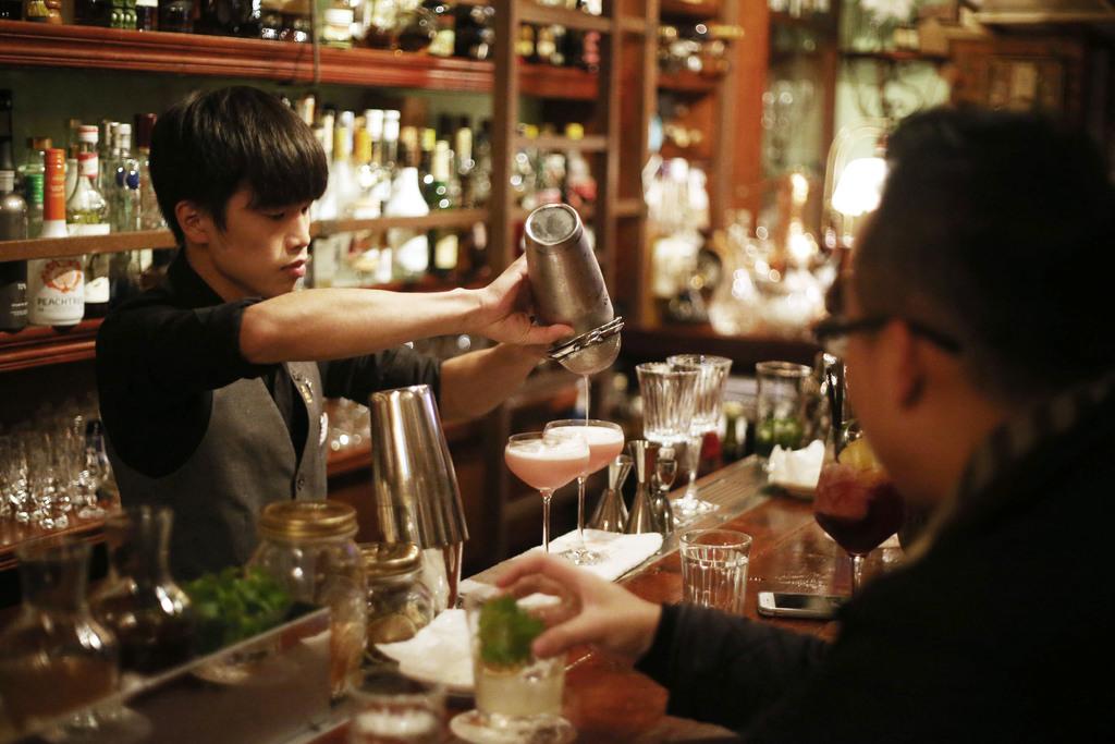 A bar in Tainan, Taiwan.