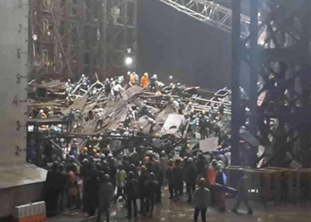 Scaffold collapse in FPG Vietnam factory kills 14