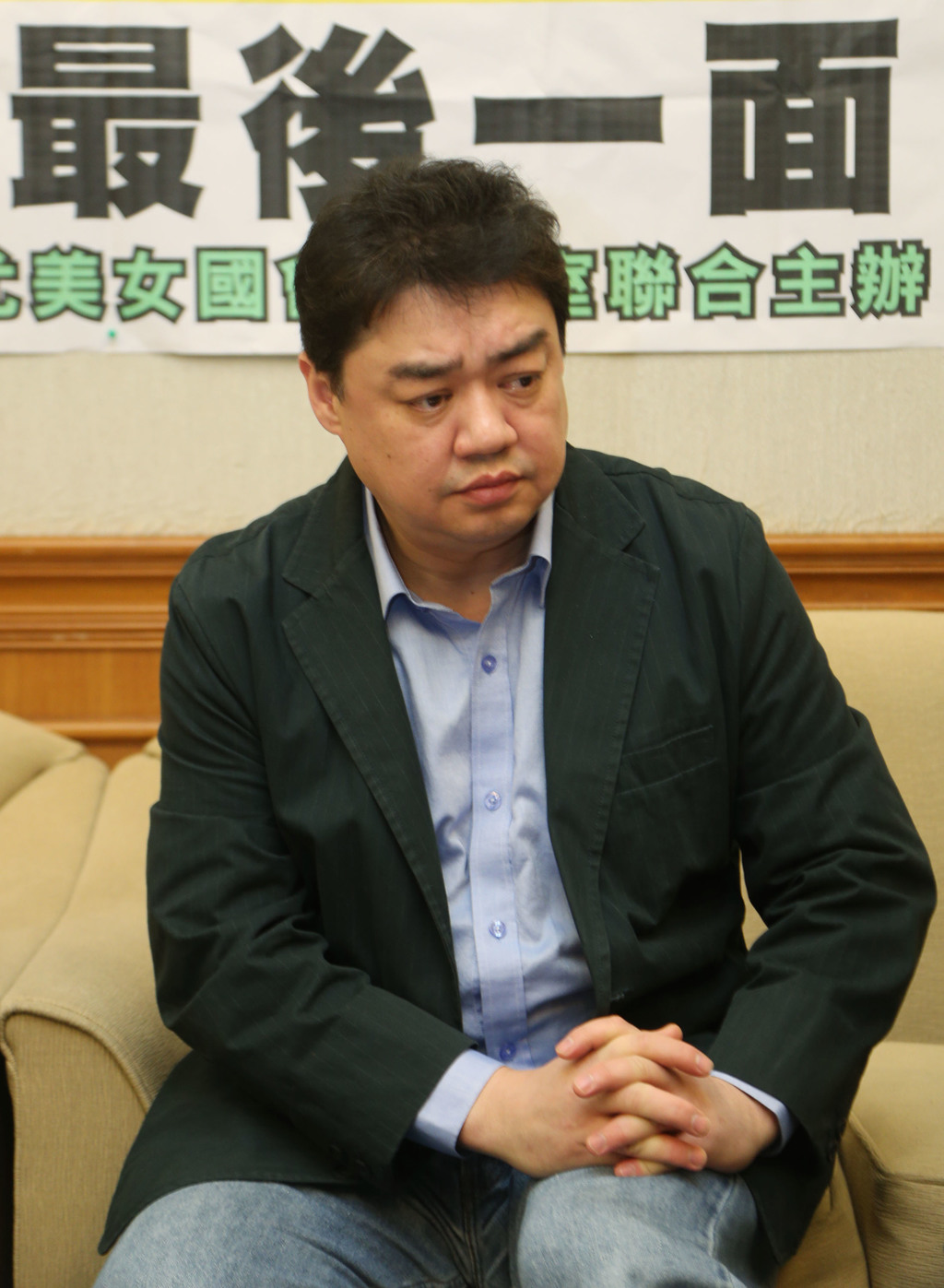 前中國民運人士吾爾開希(照片來源:資料照片/中央社提供)