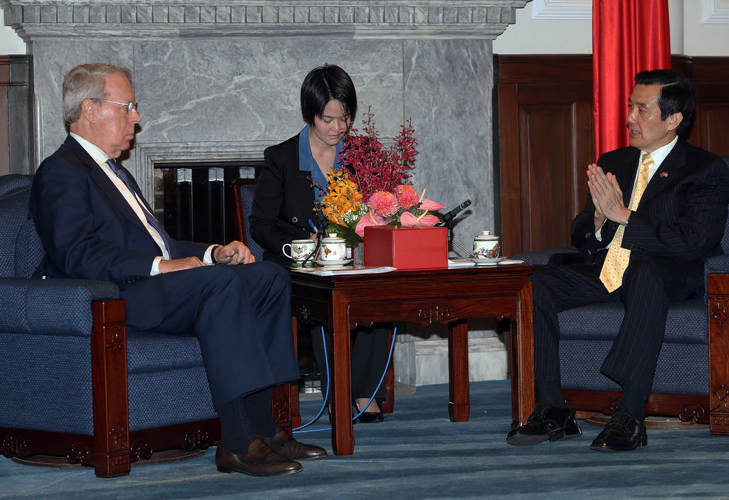 President Ma renews defense of his cross-strait policy