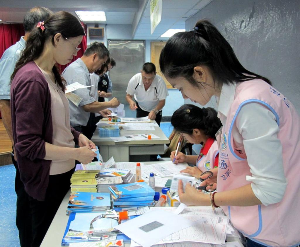 外交部「行動領務」2015年在澎湖辦理,當時有逾百人申請護照