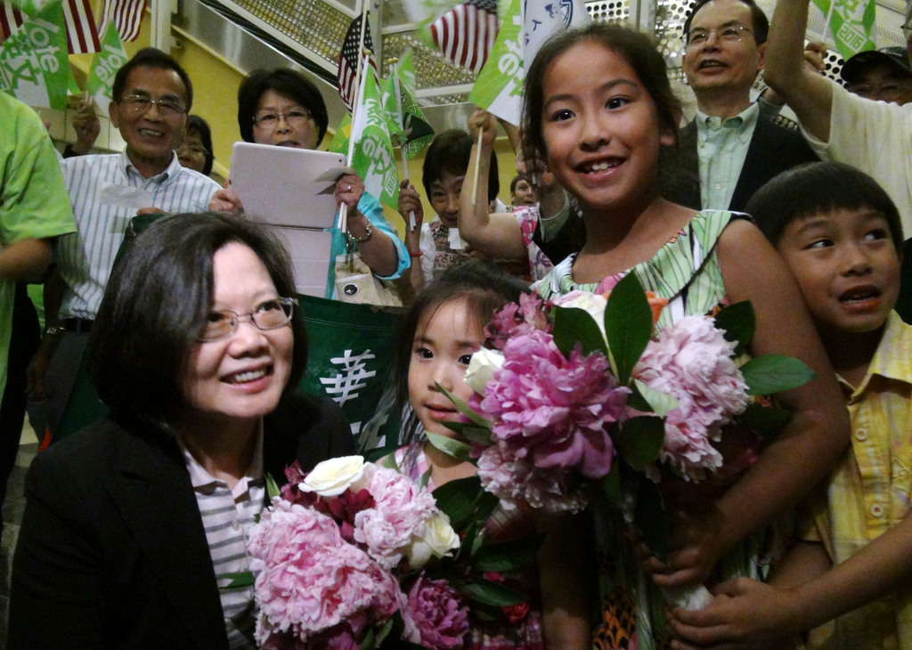 Tsai presents four-pronged foreign policy