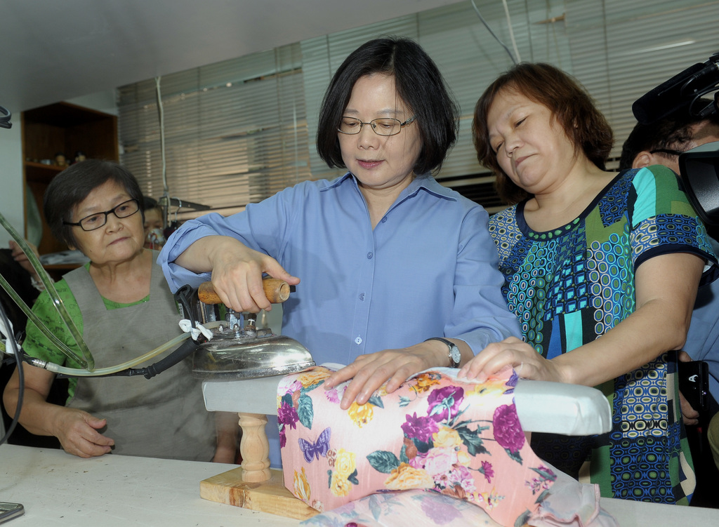Diaoyutai Islands belong to Taiwan: Tsai