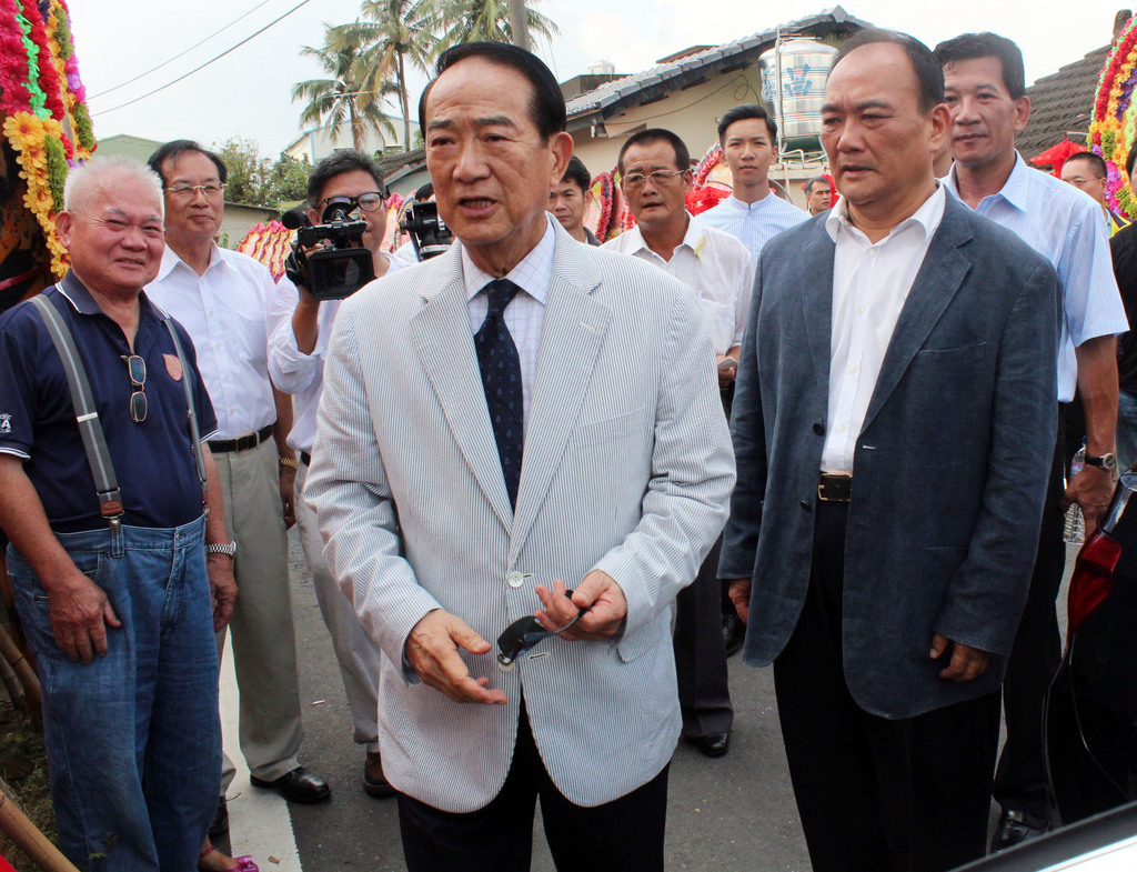 Soong denies courting KMT lawmakers to undermine Hung
