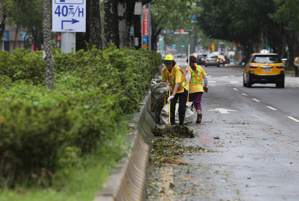Typhoon warnings lifted early Tuesday evening